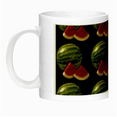 Black Watermelon Night Luminous Mugs