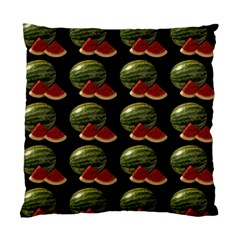 Black Watermelon Standard Cushion Case (Two Sides)