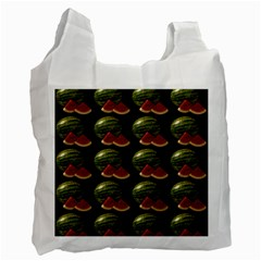 Black Watermelon Recycle Bag (Two Side)