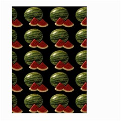 Black Watermelon Large Garden Flag (Two Sides)
