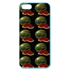 Black Watermelon Apple Seamless iPhone 5 Case (Color)
