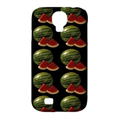Black Watermelon Samsung Galaxy S4 Classic Hardshell Case (PC+Silicone)