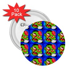 Zombies 2.25  Buttons (10 pack)