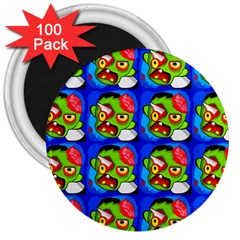 Zombies 3  Magnets (100 pack)