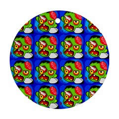 Zombies Round Ornament (Two Sides)