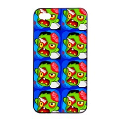 Zombies Apple iPhone 4/4s Seamless Case (Black)