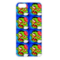 Zombies Apple iPhone 5 Seamless Case (White)