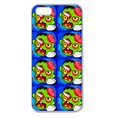 Zombies Apple Seamless iPhone 5 Case (Clear)