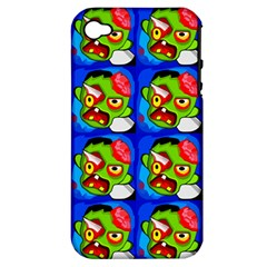 Zombies Apple iPhone 4/4S Hardshell Case (PC+Silicone)