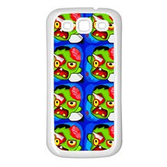 Zombies Samsung Galaxy S3 Back Case (White)