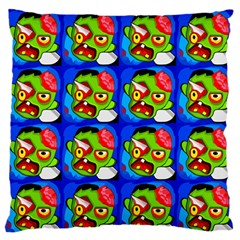 Zombies Standard Flano Cushion Case (Two Sides)