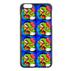 Zombies Apple Iphone 6 Plus/6s Plus Black Enamel Case