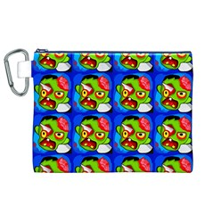 Zombies Canvas Cosmetic Bag (XL)