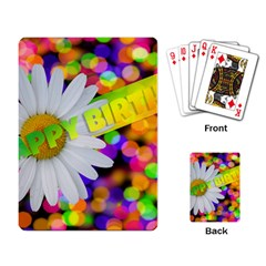 Happy Birthday Playing Card
