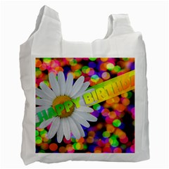 Happy Birthday Recycle Bag (One Side)