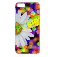 Happy Birthday Apple Seamless iPhone 5 Case (Color)
