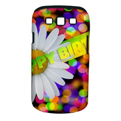Happy Birthday Samsung Galaxy S III Classic Hardshell Case (PC+Silicone)