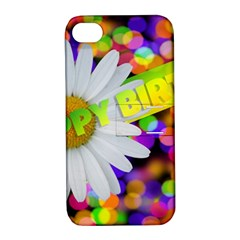 Happy Birthday Apple iPhone 4/4S Hardshell Case with Stand