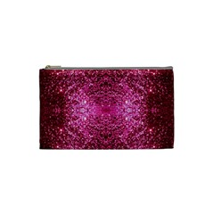 Pink Glitter Cosmetic Bag (Small)