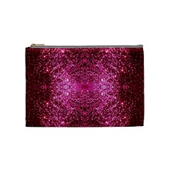 Pink Glitter Cosmetic Bag (Medium)