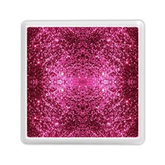 Pink Glitter Memory Card Reader (Square)