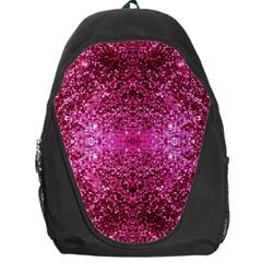 Pink Glitter Backpack Bag