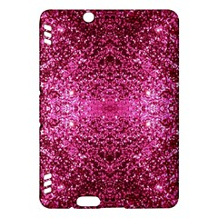 Pink Glitter Kindle Fire HDX Hardshell Case