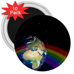 Earth 3  Magnets (10 pack)