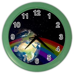 Earth Color Wall Clocks