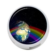 Earth 4-Port USB Hub (Two Sides)