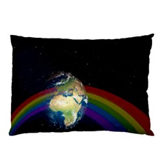 Earth Pillow Case (Two Sides)