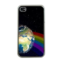 Earth Apple iPhone 4 Case (Clear)