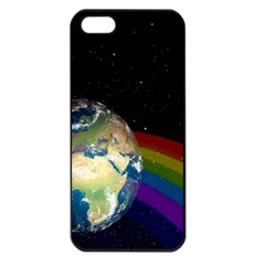 Earth Apple iPhone 5 Seamless Case (Black)