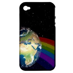 Earth Apple iPhone 4/4S Hardshell Case (PC+Silicone)