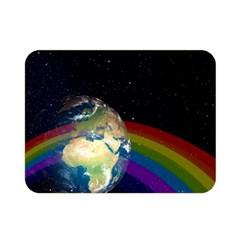 Earth Double Sided Flano Blanket (Mini)