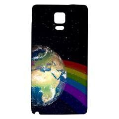 Earth Galaxy Note 4 Back Case