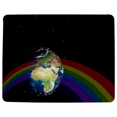Earth Jigsaw Puzzle Photo Stand (Rectangular)