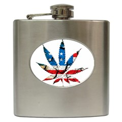 Marijuana Hip Flask (6 oz)