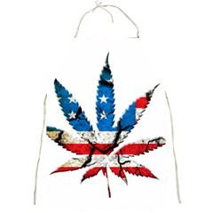 Marijuana Full Print Aprons