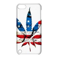 Marijuana Apple iPod Touch 5 Hardshell Case with Stand