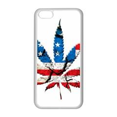 Marijuana Apple iPhone 5C Seamless Case (White)