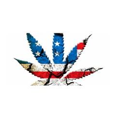 Marijuana Satin Wrap
