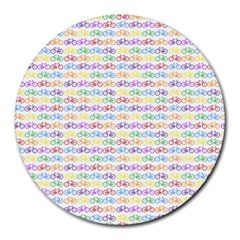 Bicycles Round Mousepads