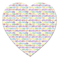 Bicycles Jigsaw Puzzle (Heart)