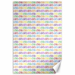 Bicycles Canvas 24  x 36
