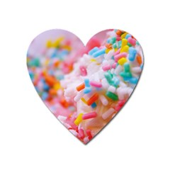 Birthday Cake Heart Magnet