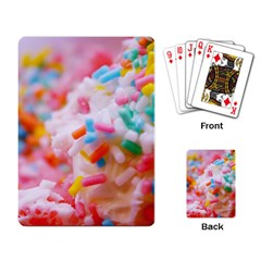 Birthday Cake Playing Card