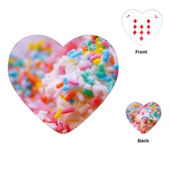 Birthday Cake Playing Cards (Heart)