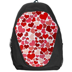 Red Hearts Backpack Bag