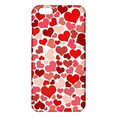 Red Hearts iPhone 6 Plus/6S Plus TPU Case